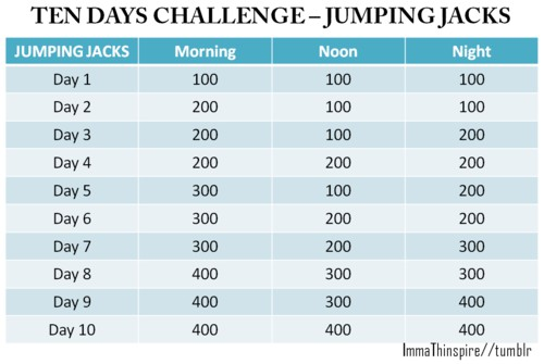 Jumping Jack Challenge | www.imgkid.com - The Image Kid ...