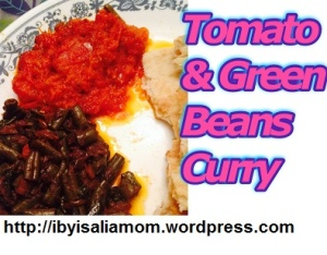 Tomato_GreenBeans Curry