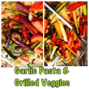 Garlic Pasta & Grilled Veggies