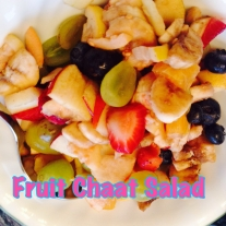 Fruit Chaat Salad