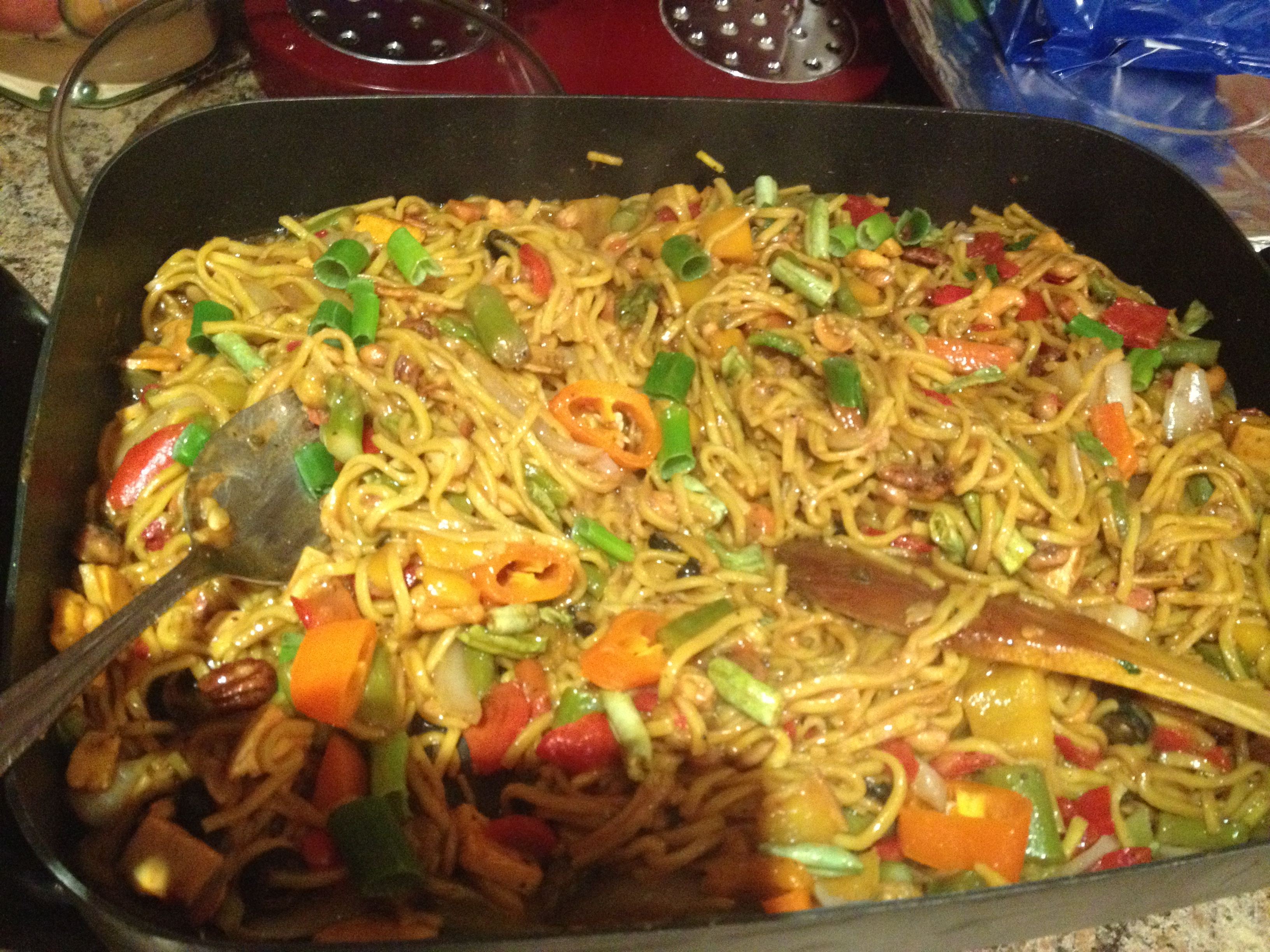 Hina's World: Recipe Vegetable Chow Mein Noodles and ...
