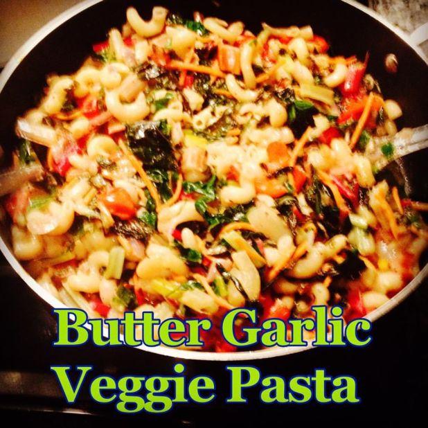 Butter Garlic Veggie Pasta