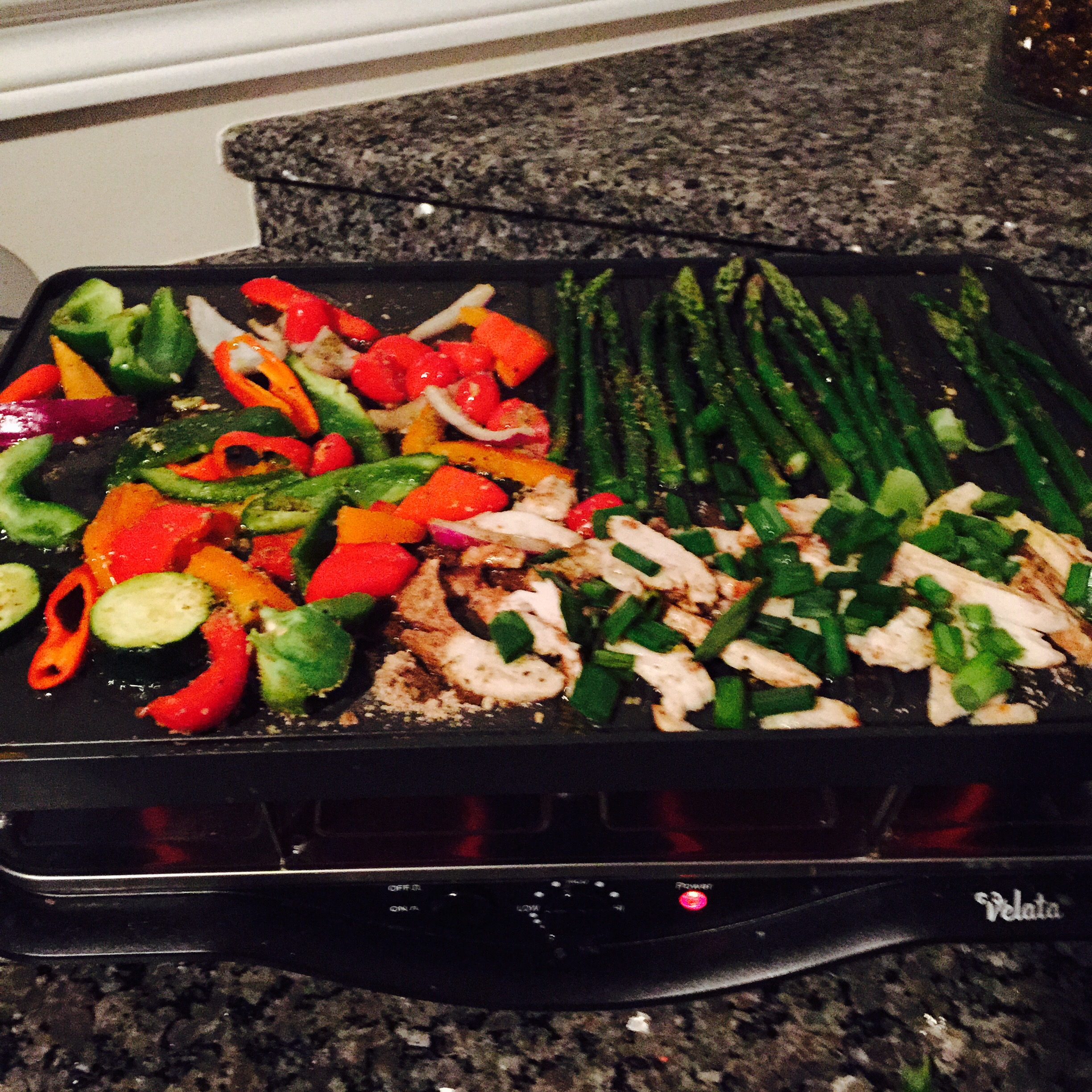 Hina's World: Grilled Vegetables & Chicken | Hina's Blog ...