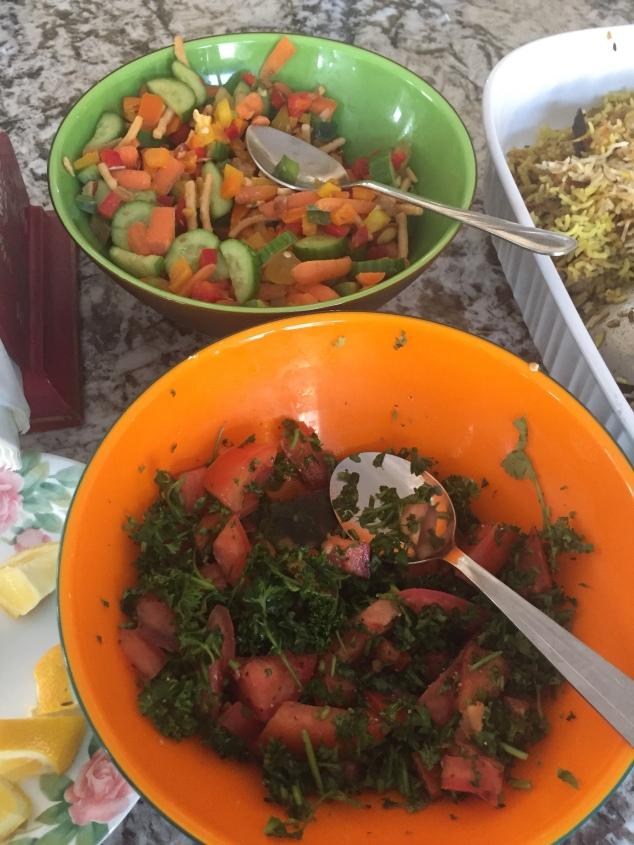 Salad & Tabbouleh